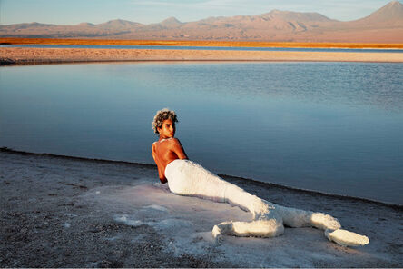 Patrick Demarchelier, 'Imaan Hammam, Desert Calm, Tierra Atacama, Vogue', 2015