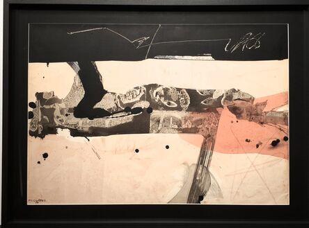 Manolo Millares, 'Hombre caído ', 1966