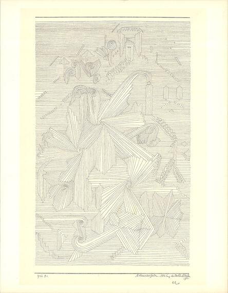 Paul Klee, 'Botanical Garden, Palmate Plants', 1946
