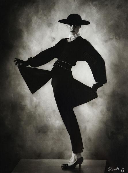 Peter H. Fürst, 'Nelle in Schwarz (Nelle in Black)', 1980