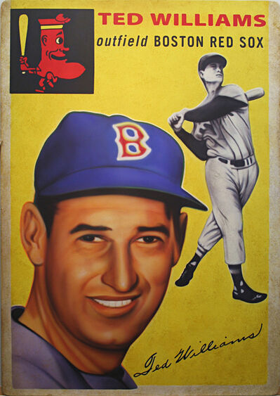 George Mead, '1954 Topps Ted Williams', 2017