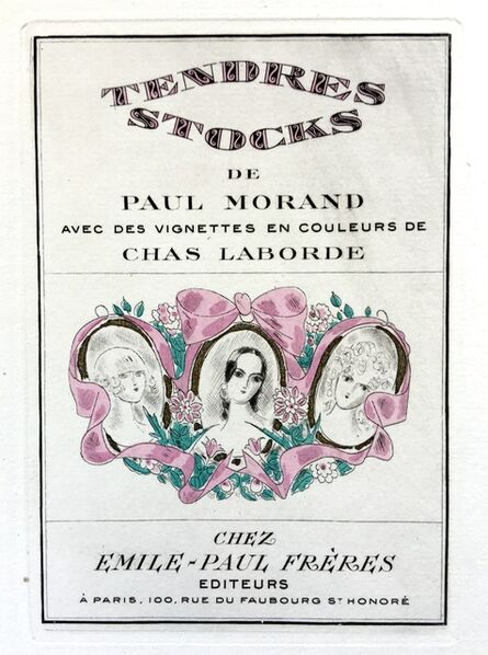 Chas Laborde, 'Tendres Stocks: The Complete Etchings', 1924