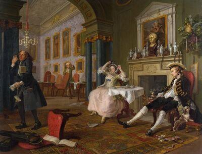 William Hogarth, 'The Tête à Tête', 1743