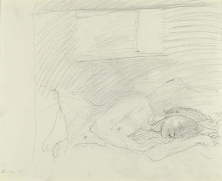 Andrew Wyeth, 'Asleep Study', 1976