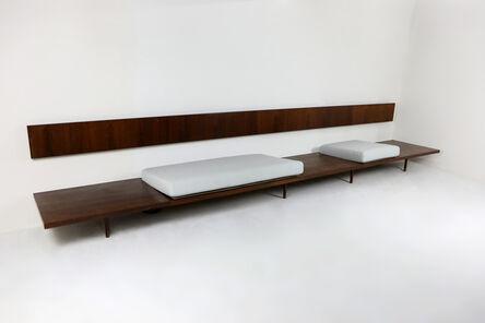 Joaquim Tenreiro, 'long bench', 1950s