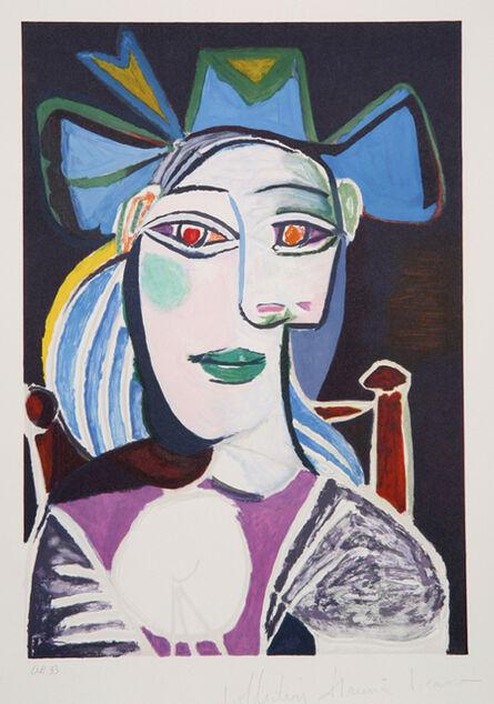 Pablo Picasso, 'Buste de Femme au Chapeau Bleu', 1973-originally 1939