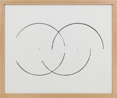 Gordon Matta-Clark, 'Cut Drawing', 1974
