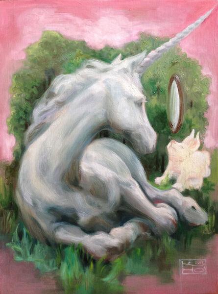 Kelly Houghton, 'Unicorn - Pure Reflection'