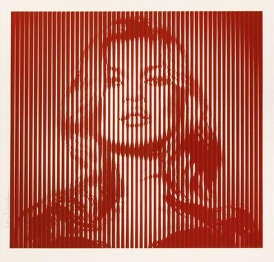 Mr. Brainwash, 'Fame Moss (Red)', 2015