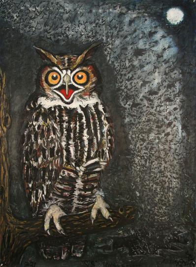 Frank X. Tolbert, 'Great Horned Owl'