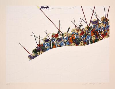Hideo Takeda, 'Yoritomo Raises an Arms', 1985-1999