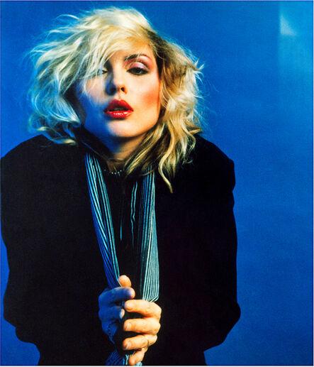 Mick Rock, 'Blue Debbie Harry', 1978