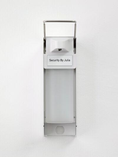 Julia Scher, 'Security By Julia (Dispenser)', 2020