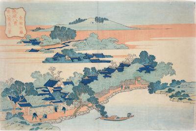 Katsushika Hokusai, 'Bamboo Grove at Sanson', ca. 1833