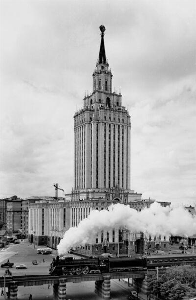 "Naum Granovsky, 'Hotel ""Leningradskaja"", Locomotive', 1960"