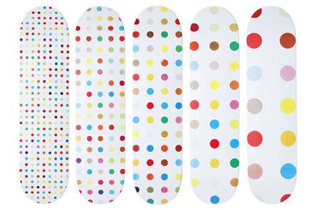 Damien Hirst, 'Set of Five Supreme Skateboards', 2009