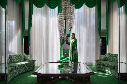 Lissa Rivera, 'Emerald Living Room', 2017