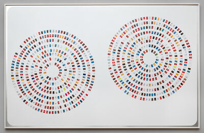 Constant Dullaart, 'PVA Composition (Circles, Provider Side)', 2016