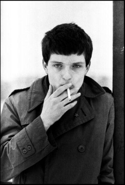 Kevin Cummins, '10. Ian Curtis, Joy Division, Hulme Manchester, 6 January 1979', 2006