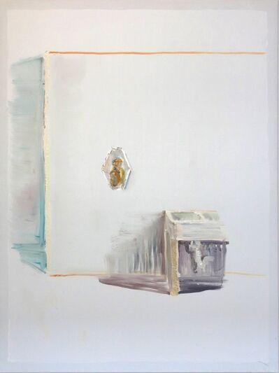 Peter Schmersal, 'Mann im Spiegel, Waschbecken', 2014