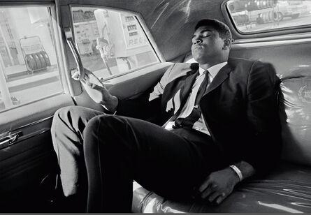 Thomas Hoepker, 'Muhammad Ali tours in a limousine', 1966