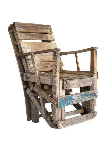 Filipe Branquinho, 'Untitled 02, Cadeira de madeira (wooden arm chair)', 2020