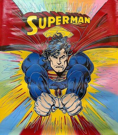 Steve Kaufman, 'SUPERMAN - BURST', 1995-2005