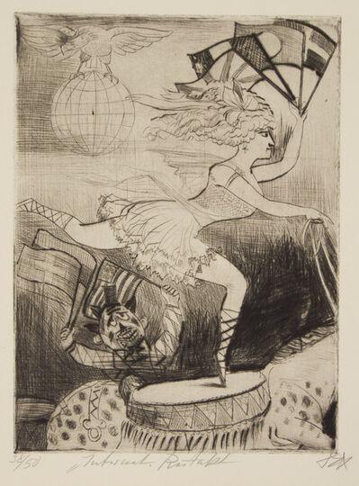 Otto Dix, 'International Riding Act', 1922