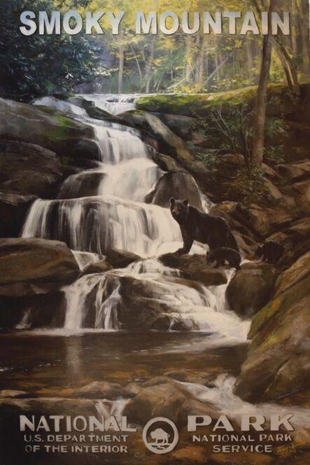 Jennifer Johnson, 'Great Smoky Mountain National Park - Black Bear', 2020