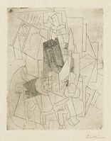 Pablo Picasso, 'L'homme au chien (Rue Schœlcher) (B. 28; Ba. 39)', 1915