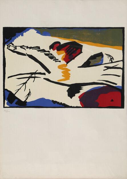 """Wassily Kandinsky, 'Lyrisches, from """"Klaenge""""', 1960"""