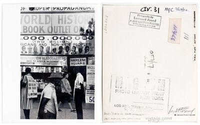 Leonard Freed, 'Harlem, New York, USA, pl 144', 1963