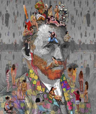 Lluis Barba, 'Self Portrait - Van Gogh', 2011