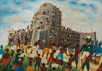 Jacques-Richard Chery, 'King Christophe Inspires the Building of the Haitian Citadel', ca. 1962