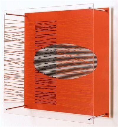 Jesús Rafael Soto, 'Oval in the red (Ovalo en el rojo) ', 1979