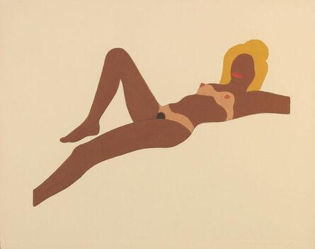Tom Wesselmann, 'Embossed Nude #8', 1965