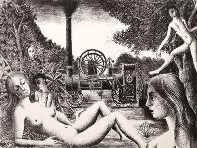 Paul Delvaux, 'Locomobile [Jacob 42]', 1970