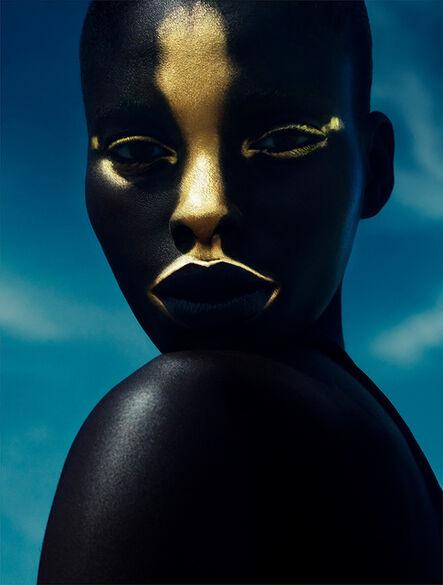 Txema Yeste, 'Golden Mask, Tenerife', 2014