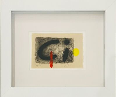 Joan Miró, 'Untitled from Noars Amour', 1961