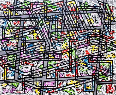 Bernard Cohen, 'Place Games', 2013