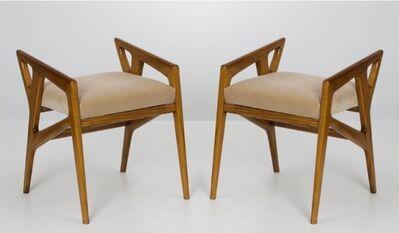 Gio Ponti, 'Pair of stools', 1950
