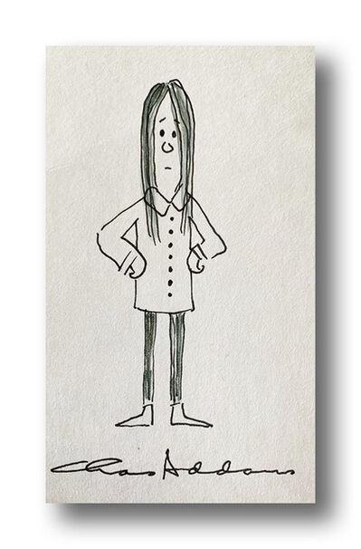 Charles Addams, 'Wednesday Addams', ca. 1970s