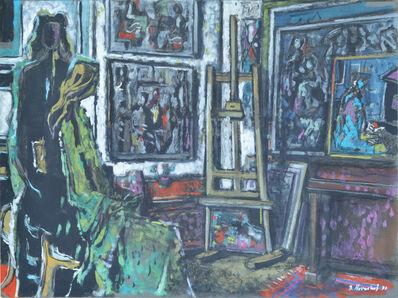 BRANKO KOVAČEVIĆ, 'In the Studio', 1977