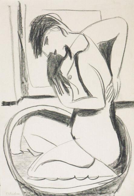 Ernst Ludwig Kirchner, 'Woman in Bathtub', ca. 1925