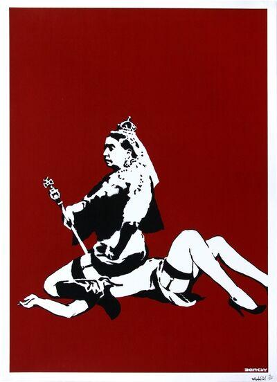 Banksy, 'Queen Vic (Signed)', 2003