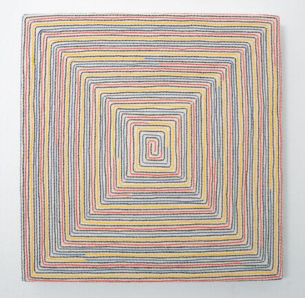 Pierre le Riche, 'Labyrinth in Primary Colours', 2020