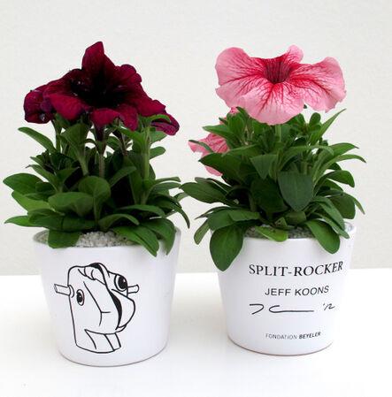 Jeff Koons, 'Split Rocker (flower pot)', 2012