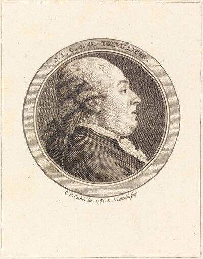 Louis-Jacques Cathelin after Charles-Nicolas Cochin II, 'J. Trevilliers', 1782