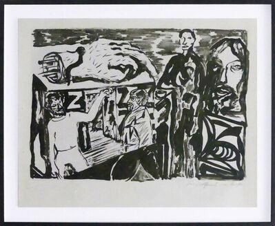 A.R. Penck, 'Dresdner Künstler', 1979