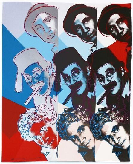 Andy Warhol, 'The Marx Brothers (FS II.232)', 1980